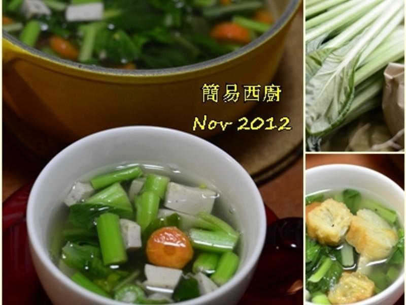 上海白菜清湯