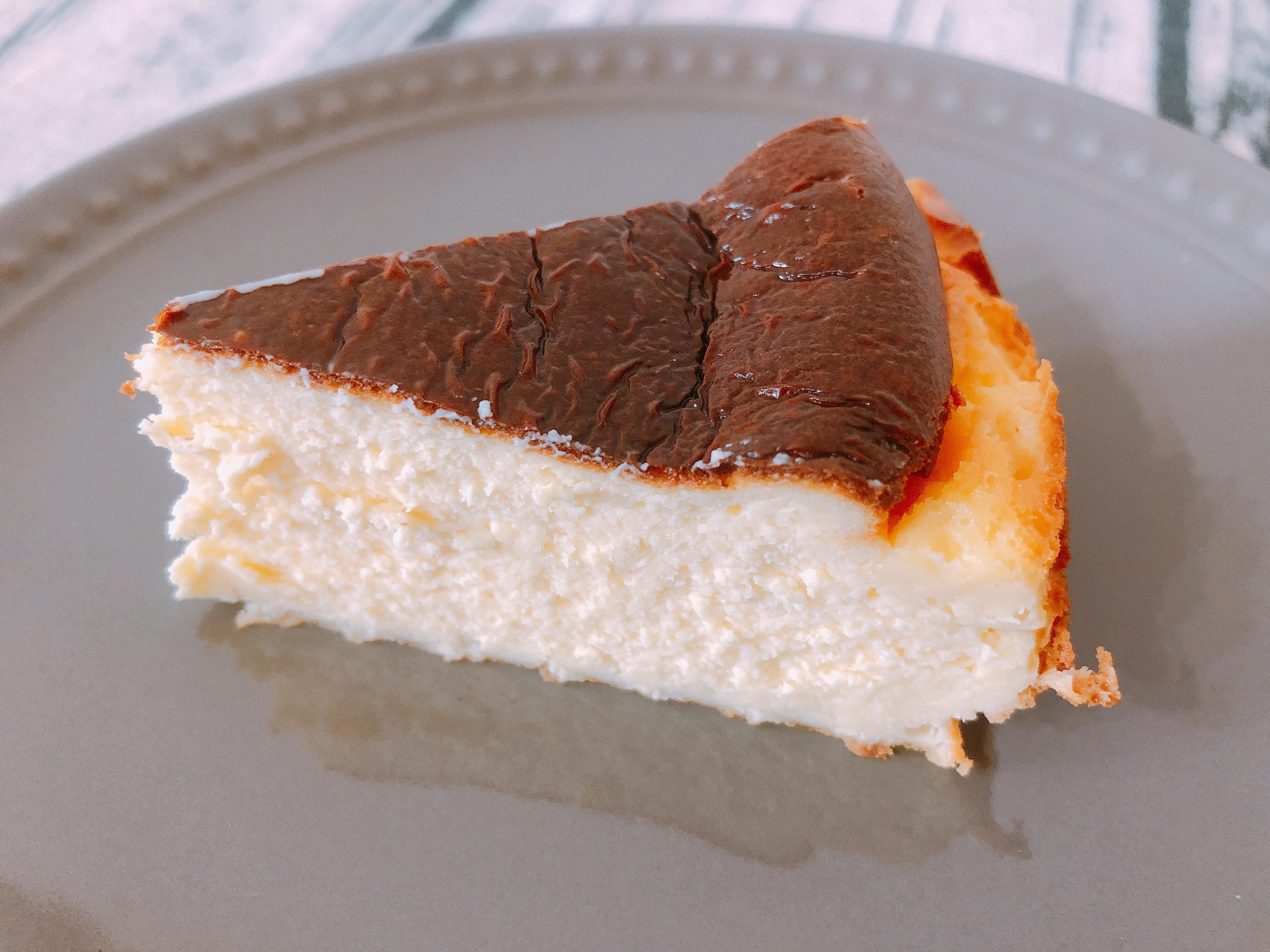 氣炸鍋料理-夯到不行的巴斯克乳酪蛋糕
