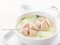 大黃瓜貢丸湯【家常菜】