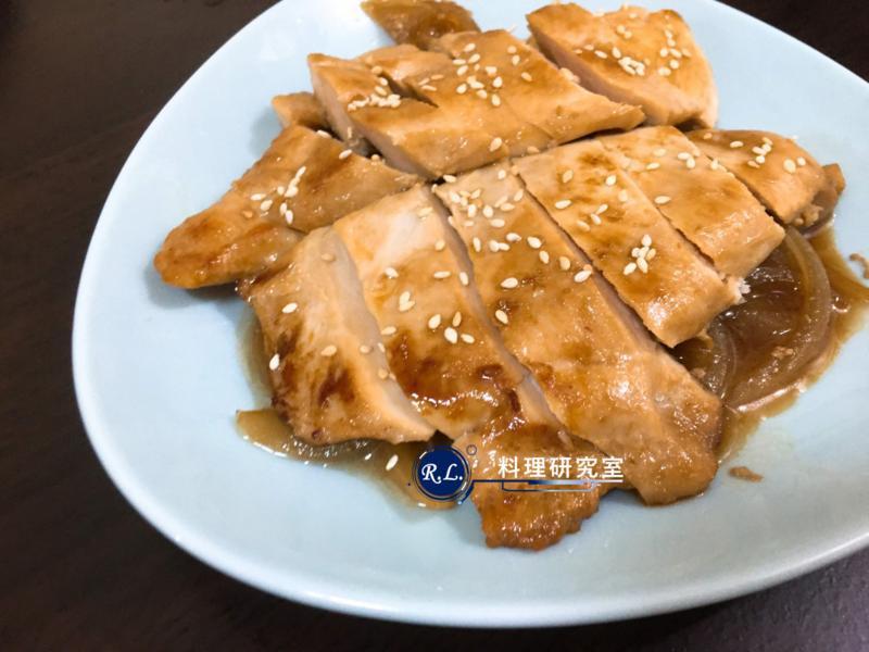 【家常菜】照燒雞胸肉(10分鐘上菜)
