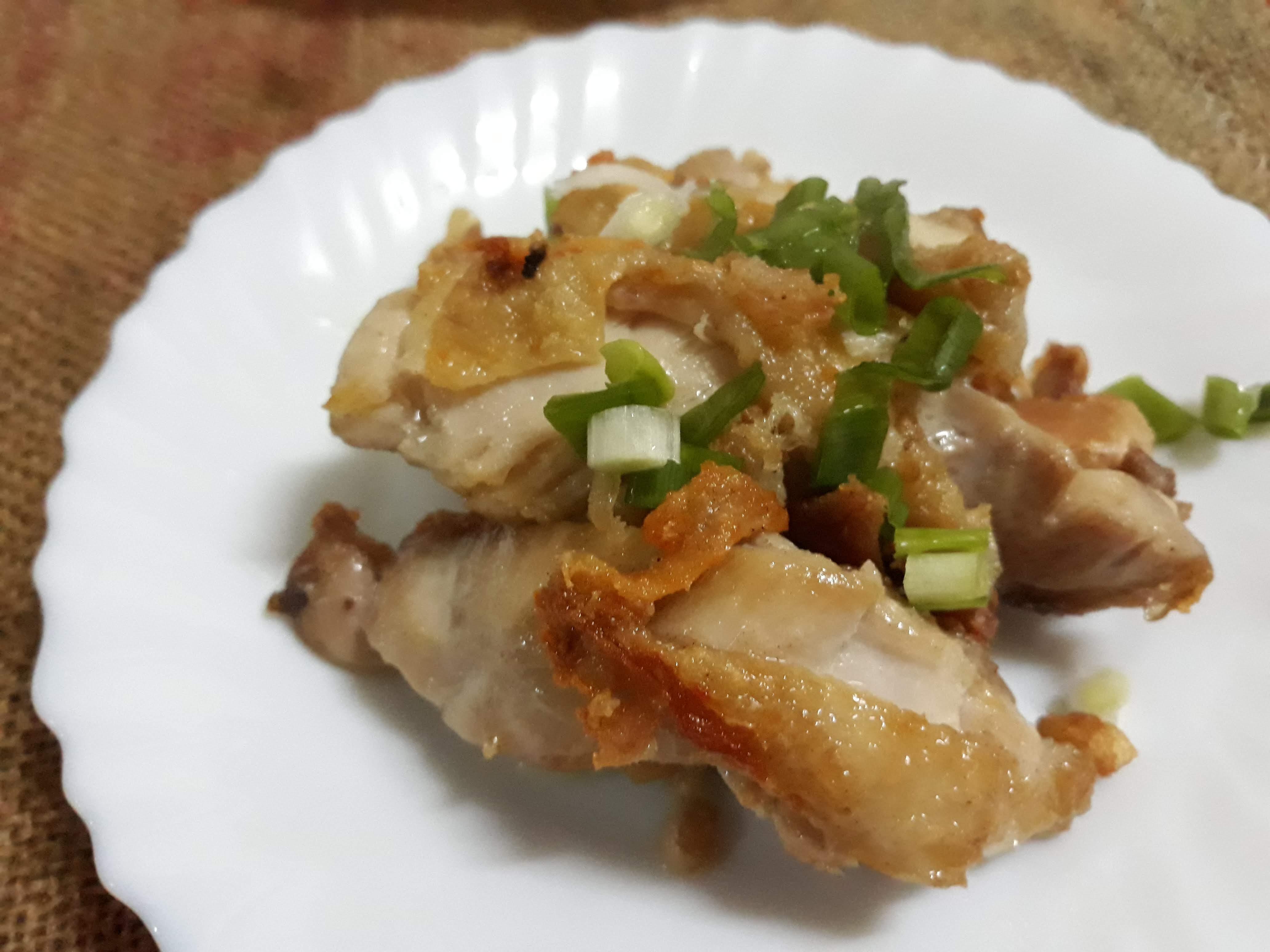 十分鐘上菜─香煎雞腿排(無油便當菜)