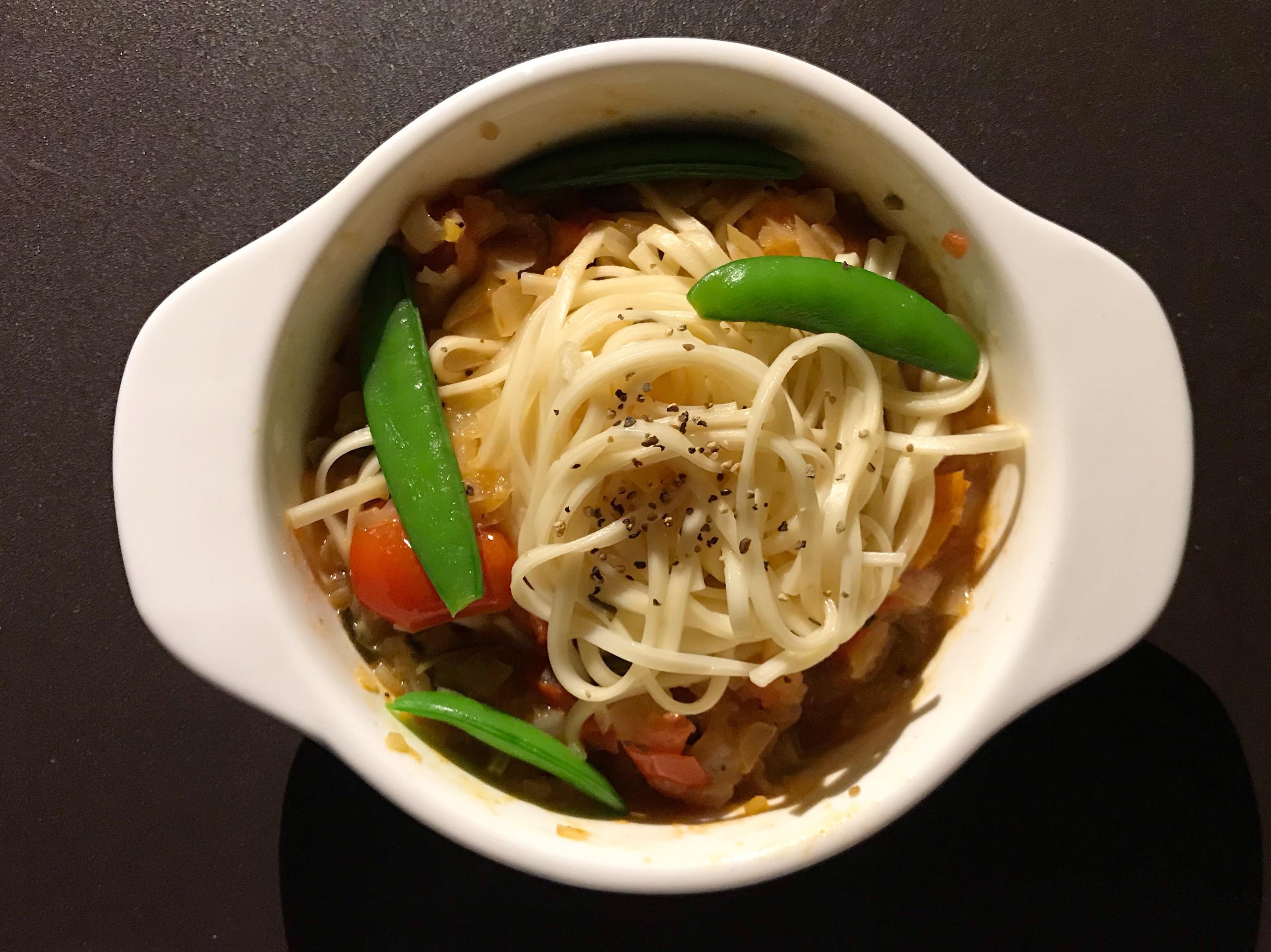 台式洋蔥蕃茄燴麵