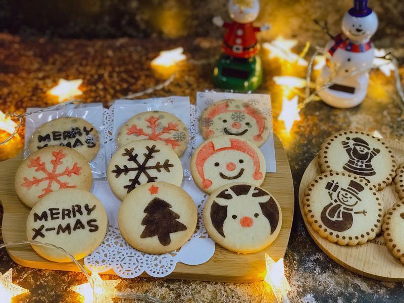 2019應景聖誕節印花餅乾