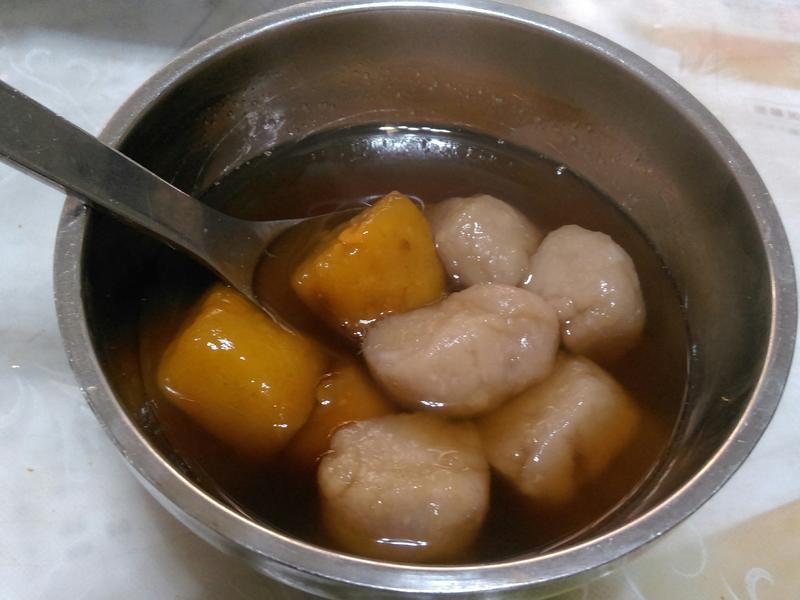 芋頭圓黑糖薑湯