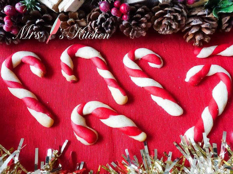 【影片】 聖誕柺杖糖餅乾🎄