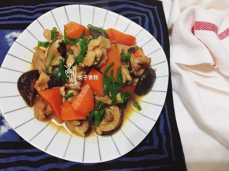 辣味香菇雞