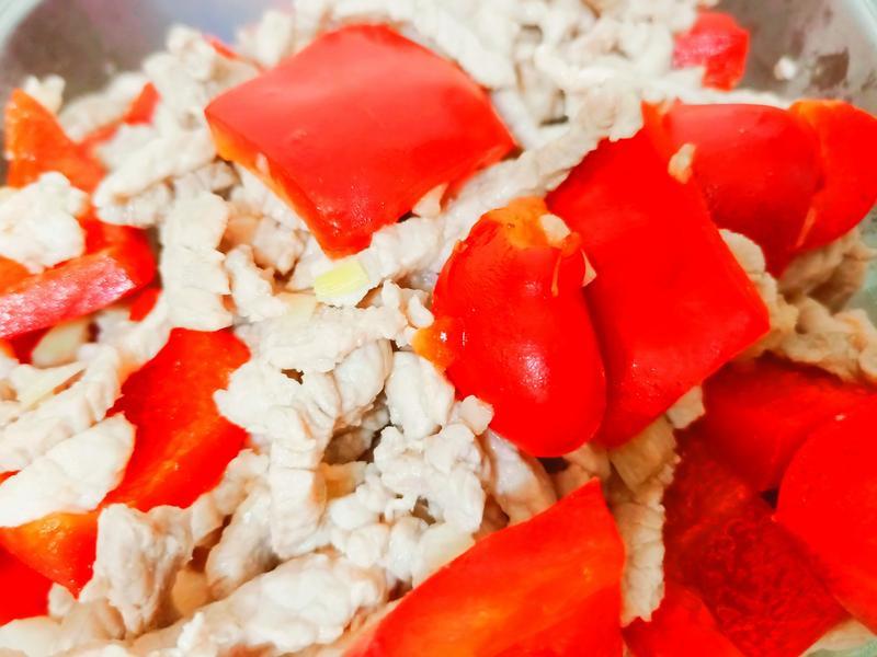 炒甜椒香嫩豬肉絲~簡單快速健康料理
