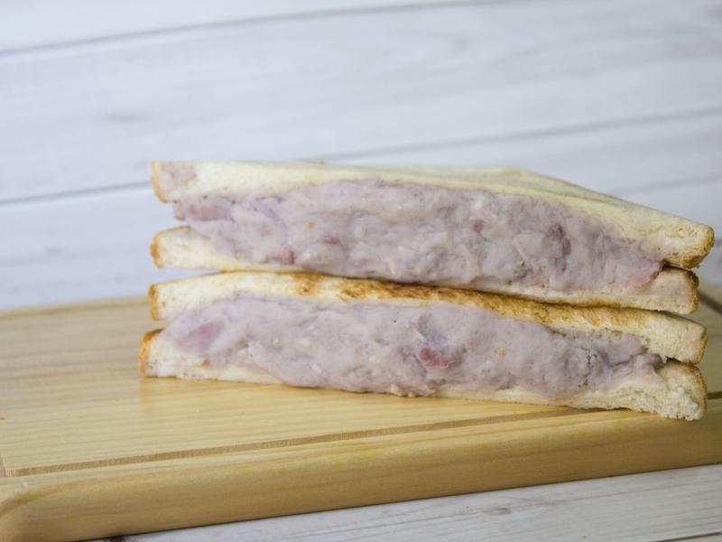 芋泥吐司 Taro Toast