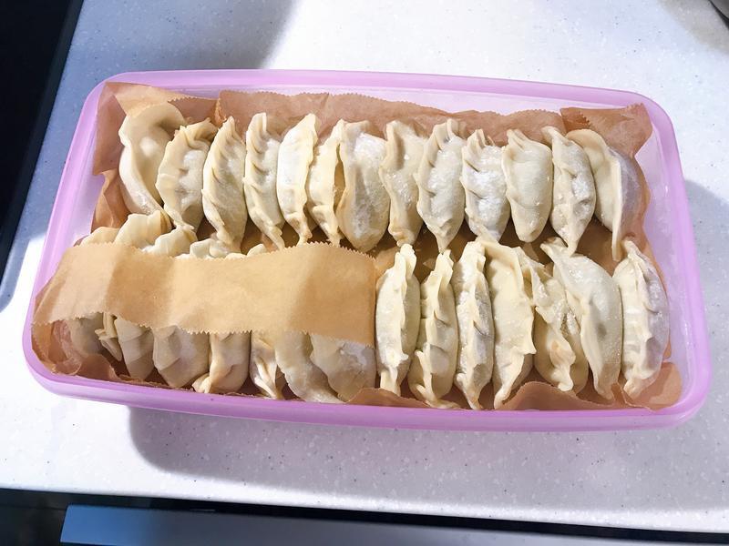 自製手工水餃餡