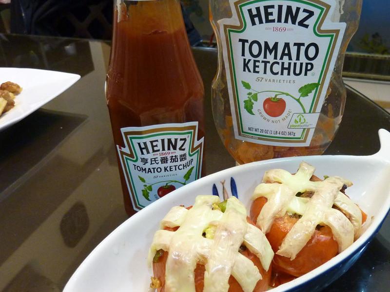 亨氏番茄醬100%純天然-焗烤(牛)蕃茄