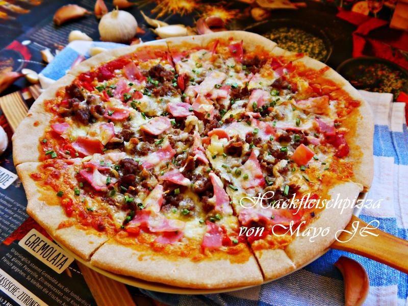 絞肉Pizza