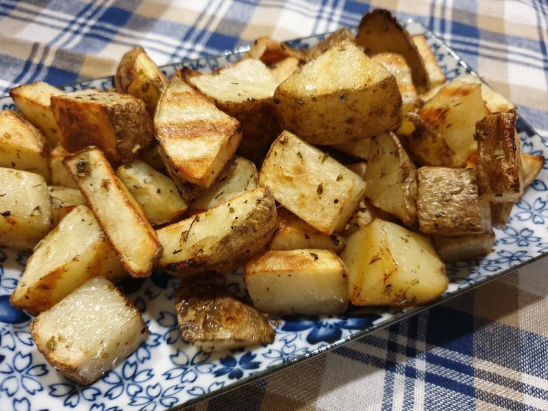 水波爐料理~燒烤馬鈴薯