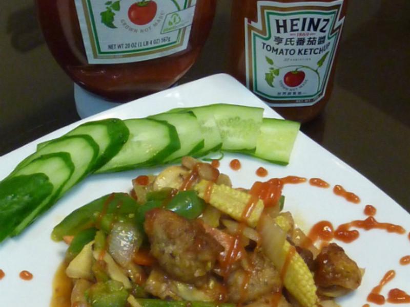 亨氏番茄醬100%純天然-糖醋里肌