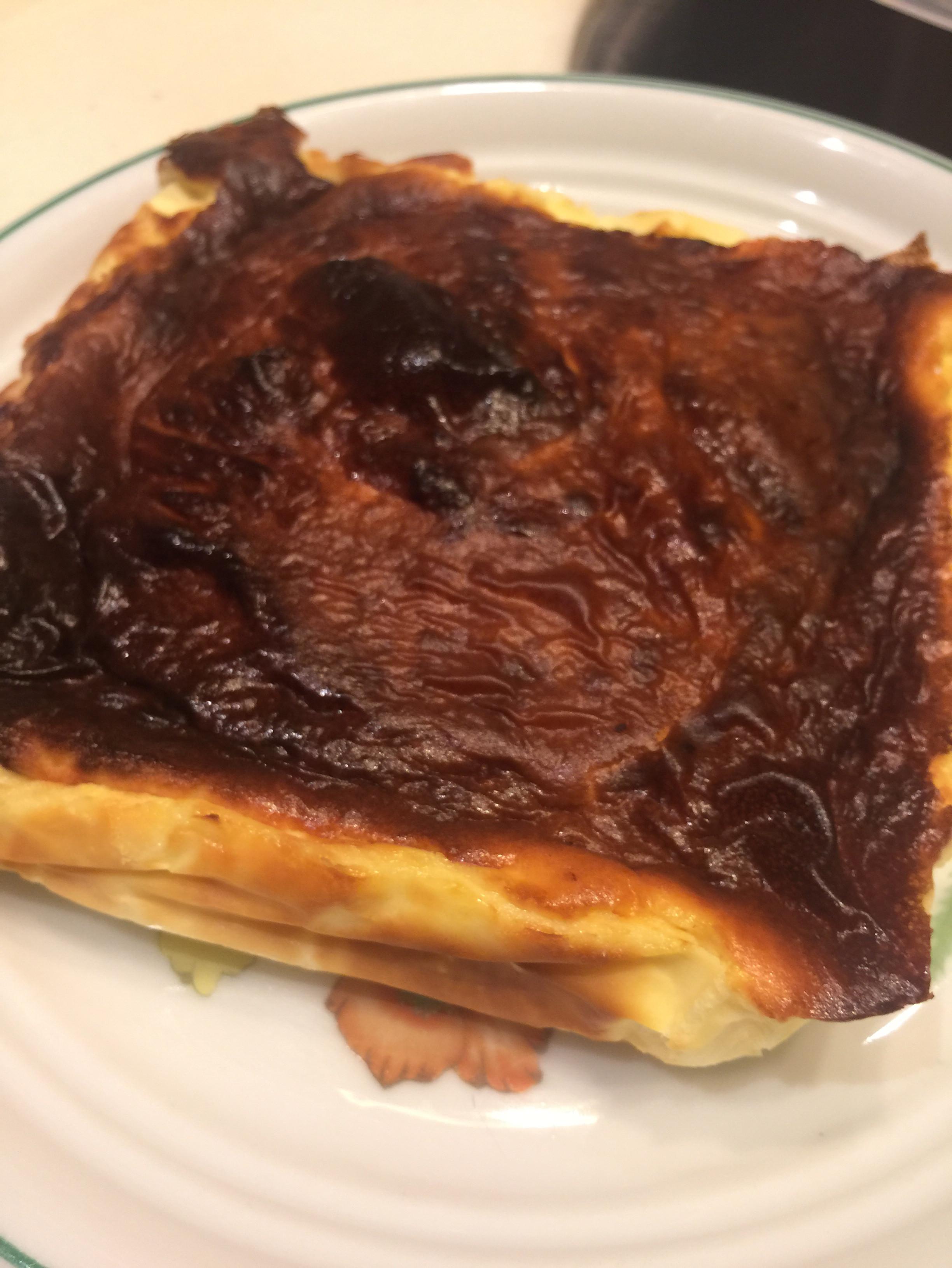 【氣炸鍋食譜】巴斯克乳酪蛋糕