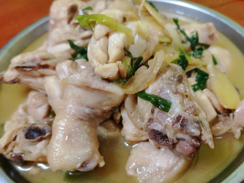 蚝油姜葱鸡