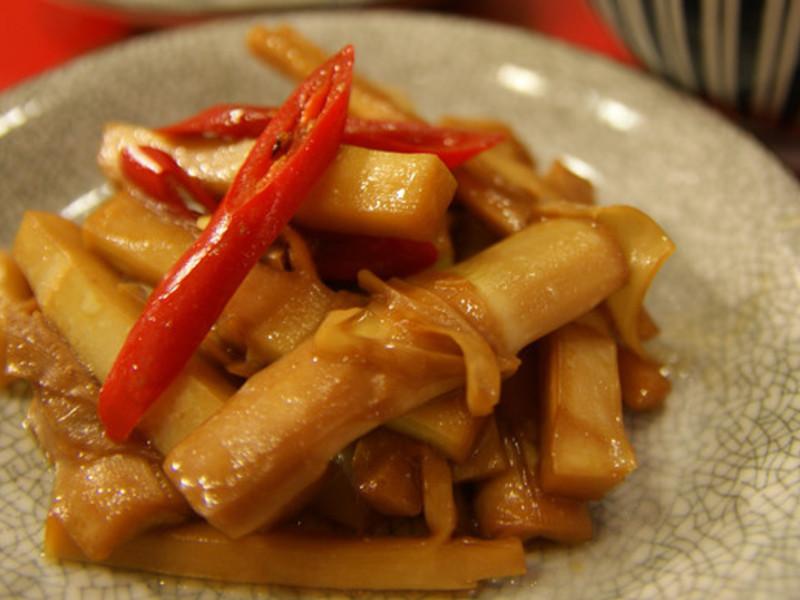 開胃好料理 -- 桂竹筍酸菜肉絲