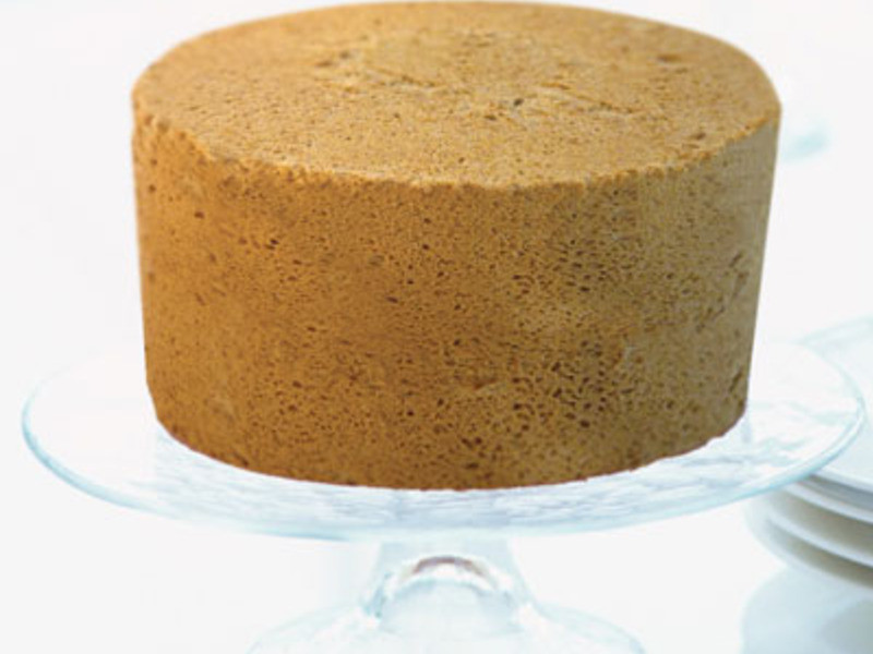 咖啡戚風蛋糕