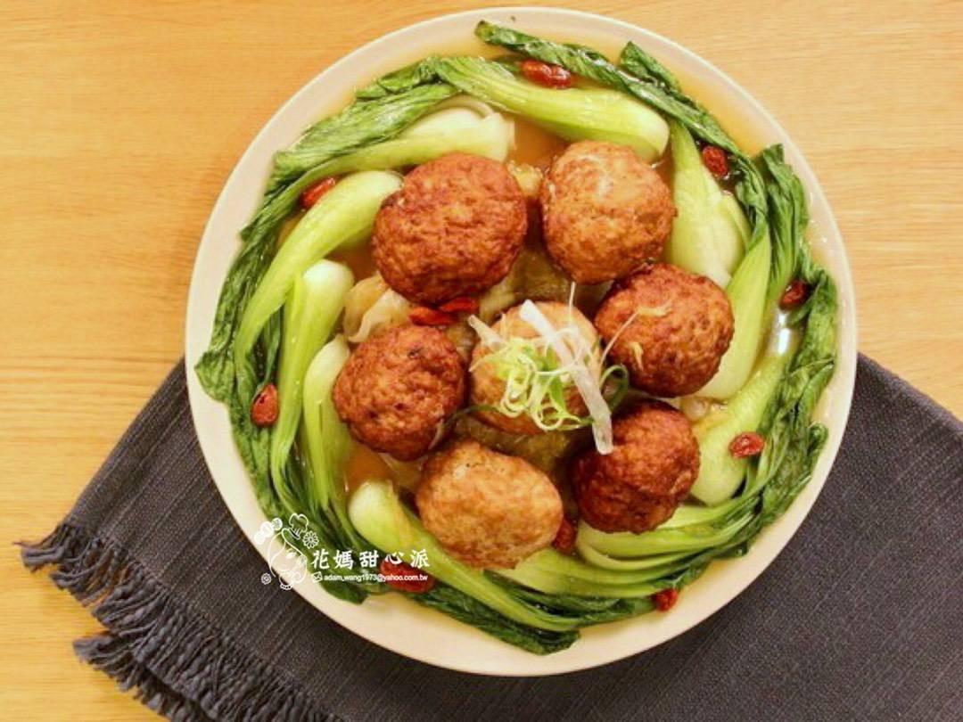 鴻運獅子頭(年菜料理)