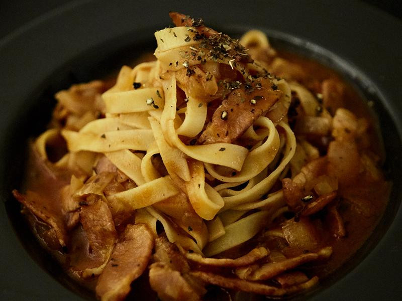 食煮#2 蕃茄培根義大利麵