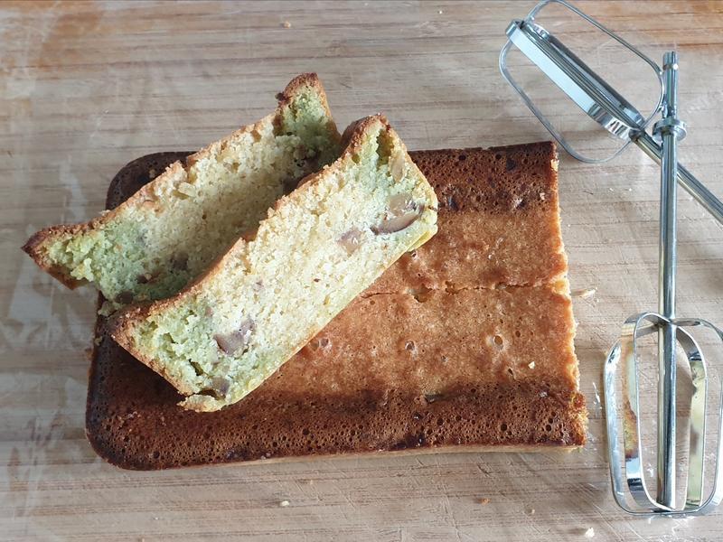 低醣雙色抹茶栗子🌰磅蛋糕