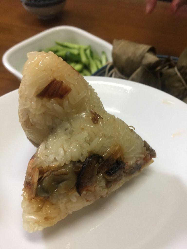 記錄§陽春版的蚵粽(海線特有美食)