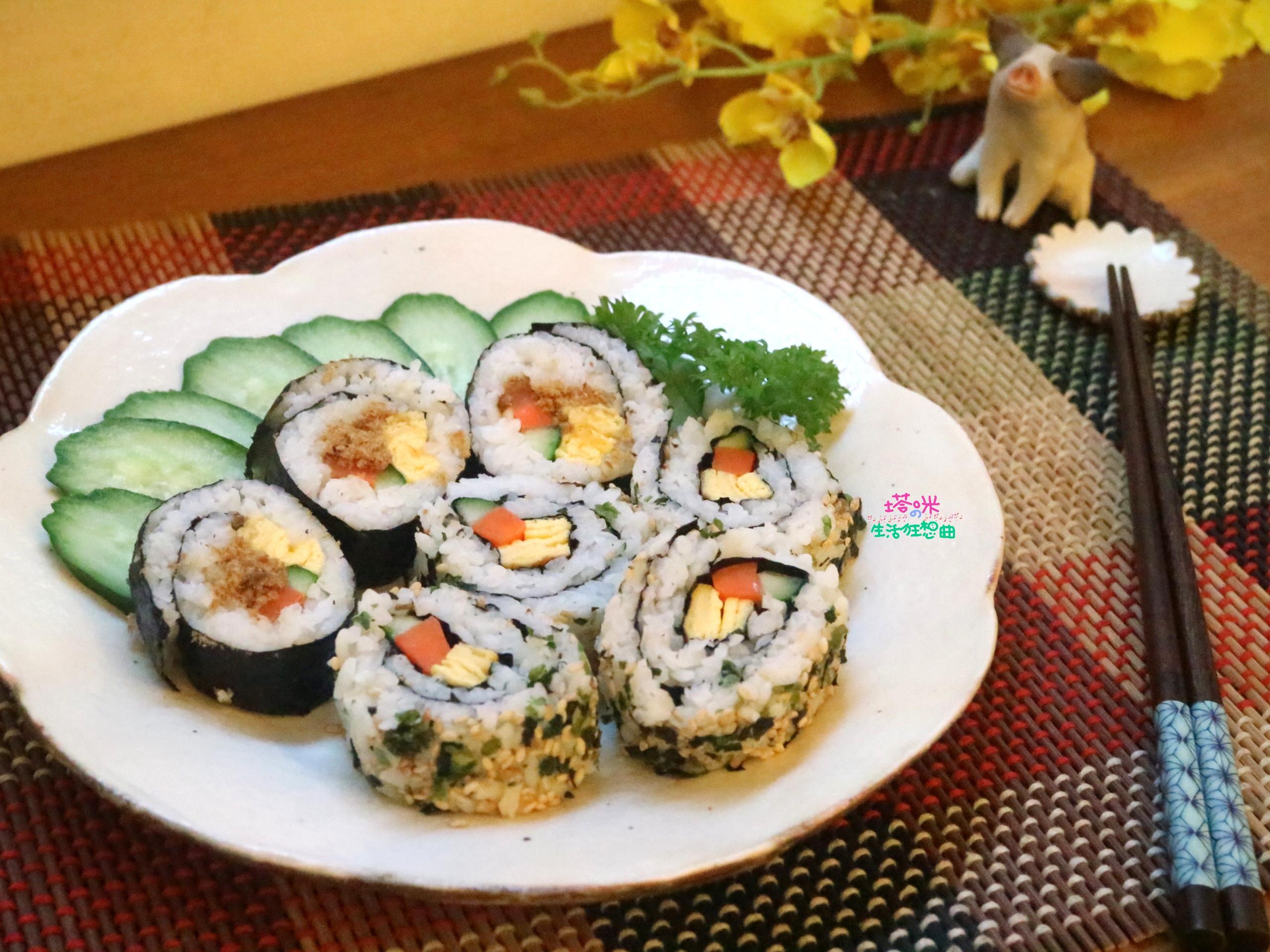 海苔壽司&香鬆花壽司