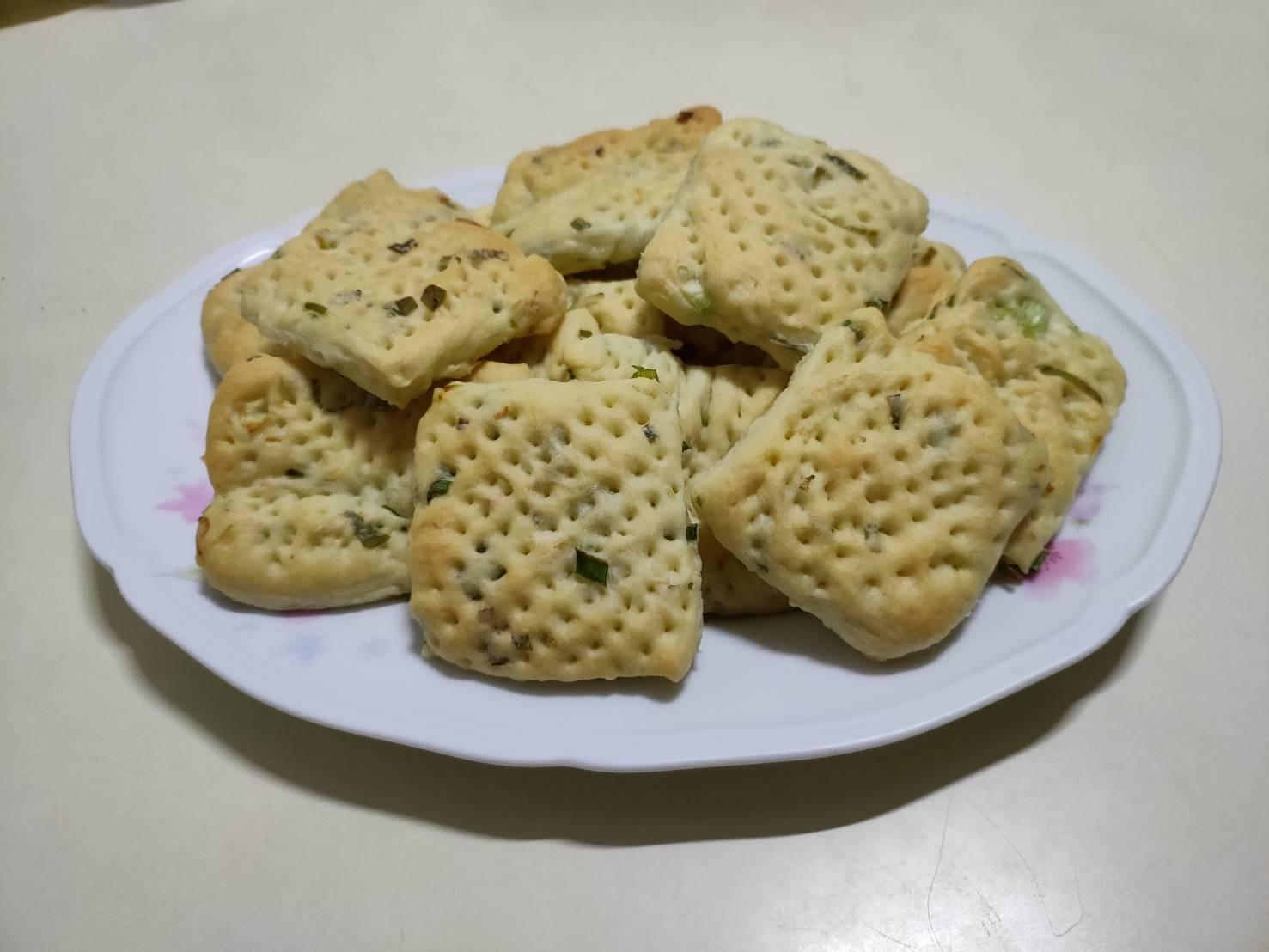 蔥花蘇打餅