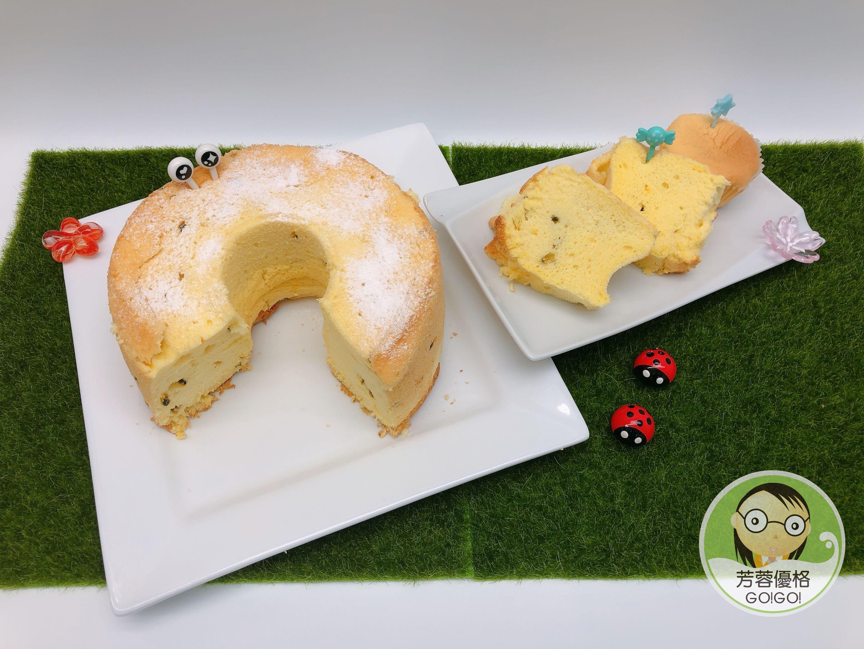 百香果優格乳清戚風蛋糕