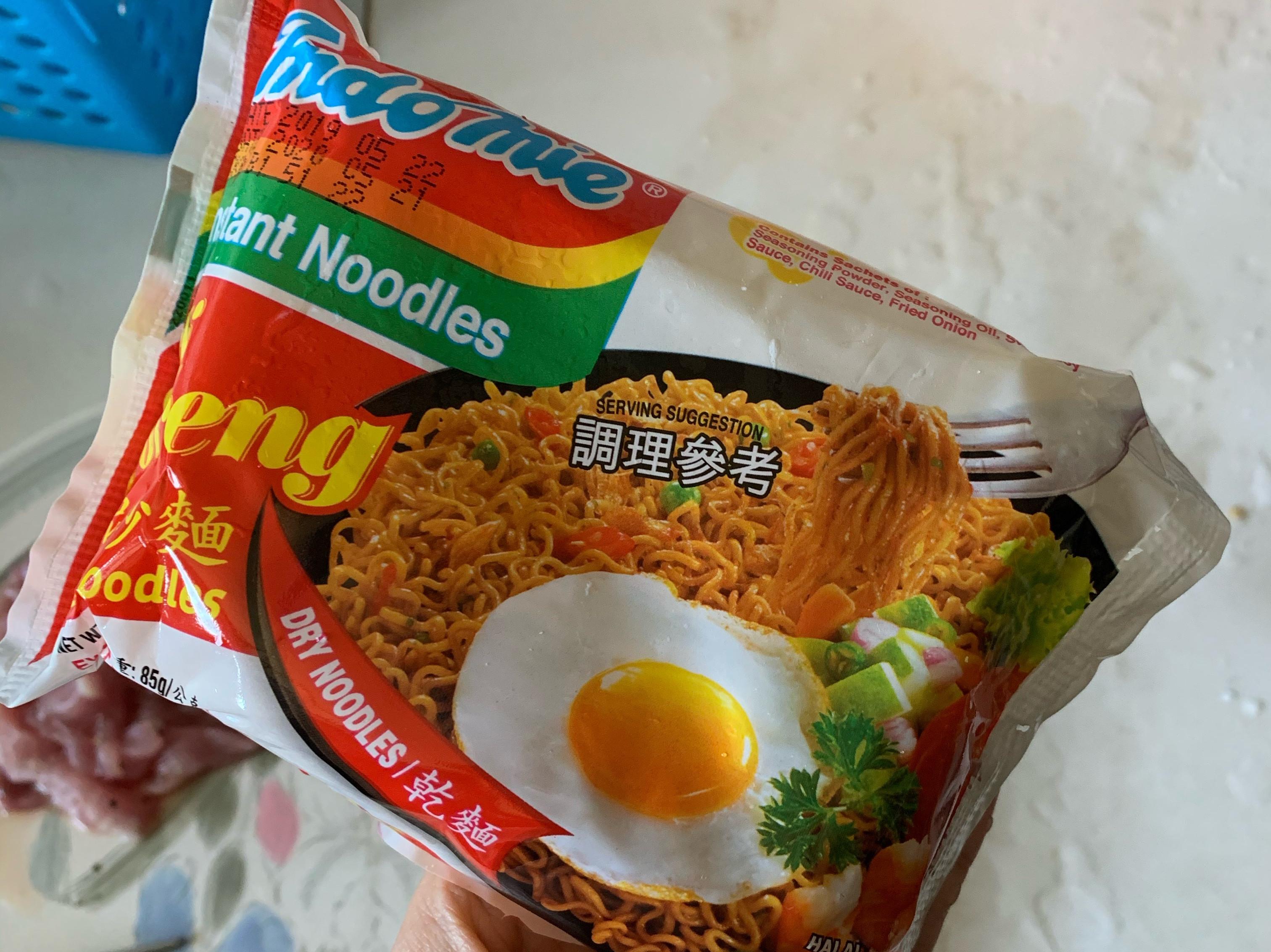 解決印尼炒麵