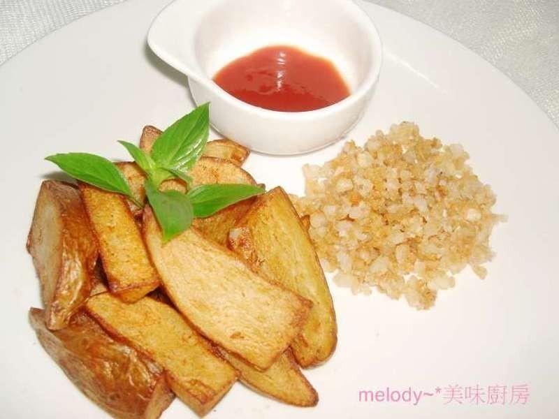 「亨氏番茄醬‧100%純天然」香酥黃金薯條
