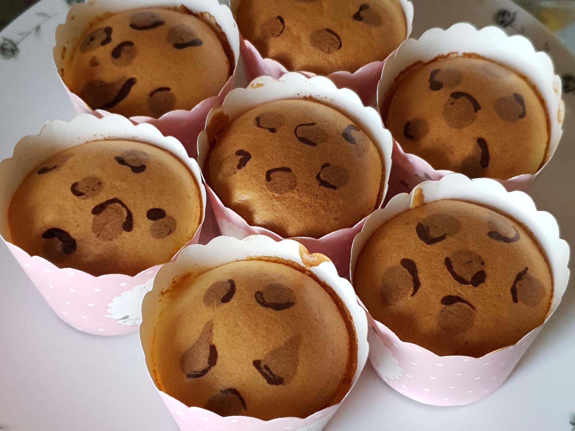 《氣炸系列》豹紋杯子蛋糕