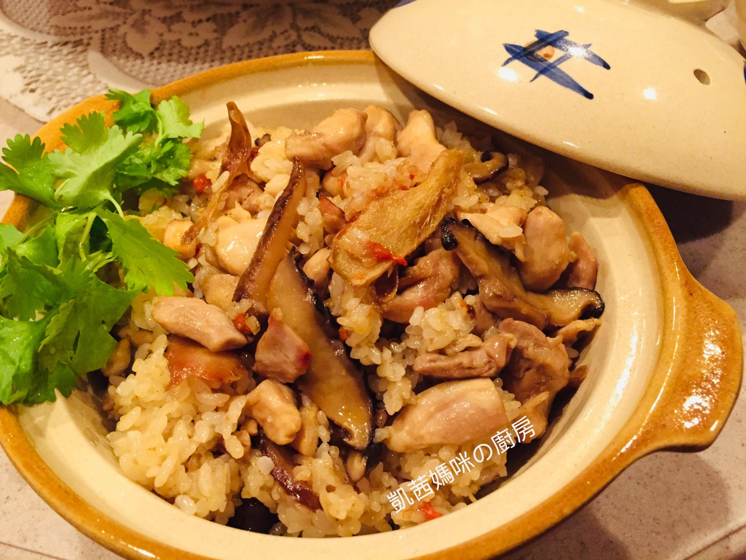 香菇麻油雞飯🎶