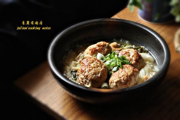 紅燒豆腐獅子頭