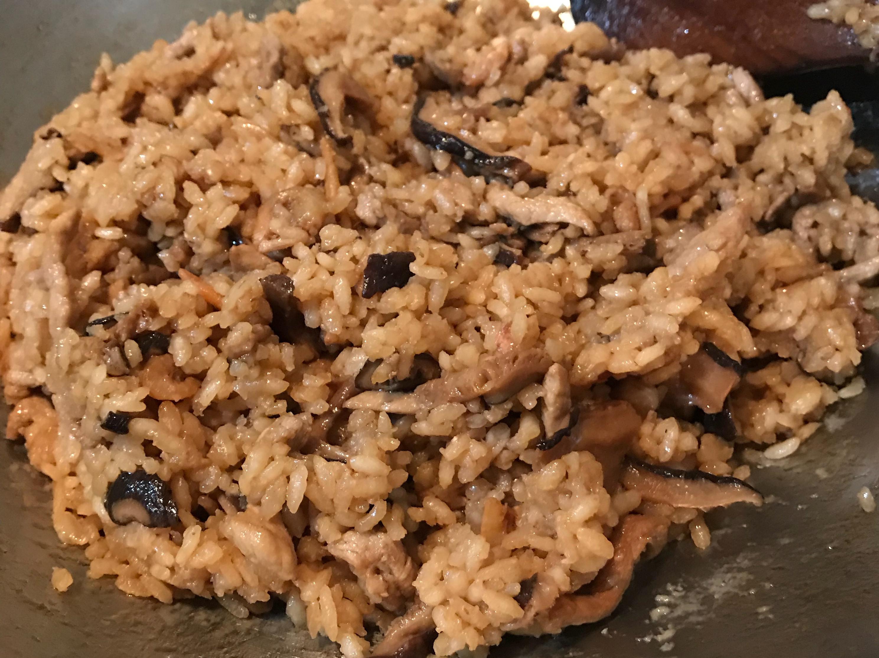 白米簡單做油飯