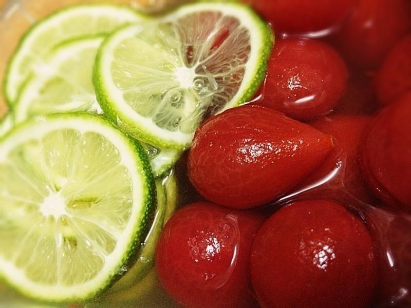 《冰釀蜂蜜梅漬檸檬小蕃茄》