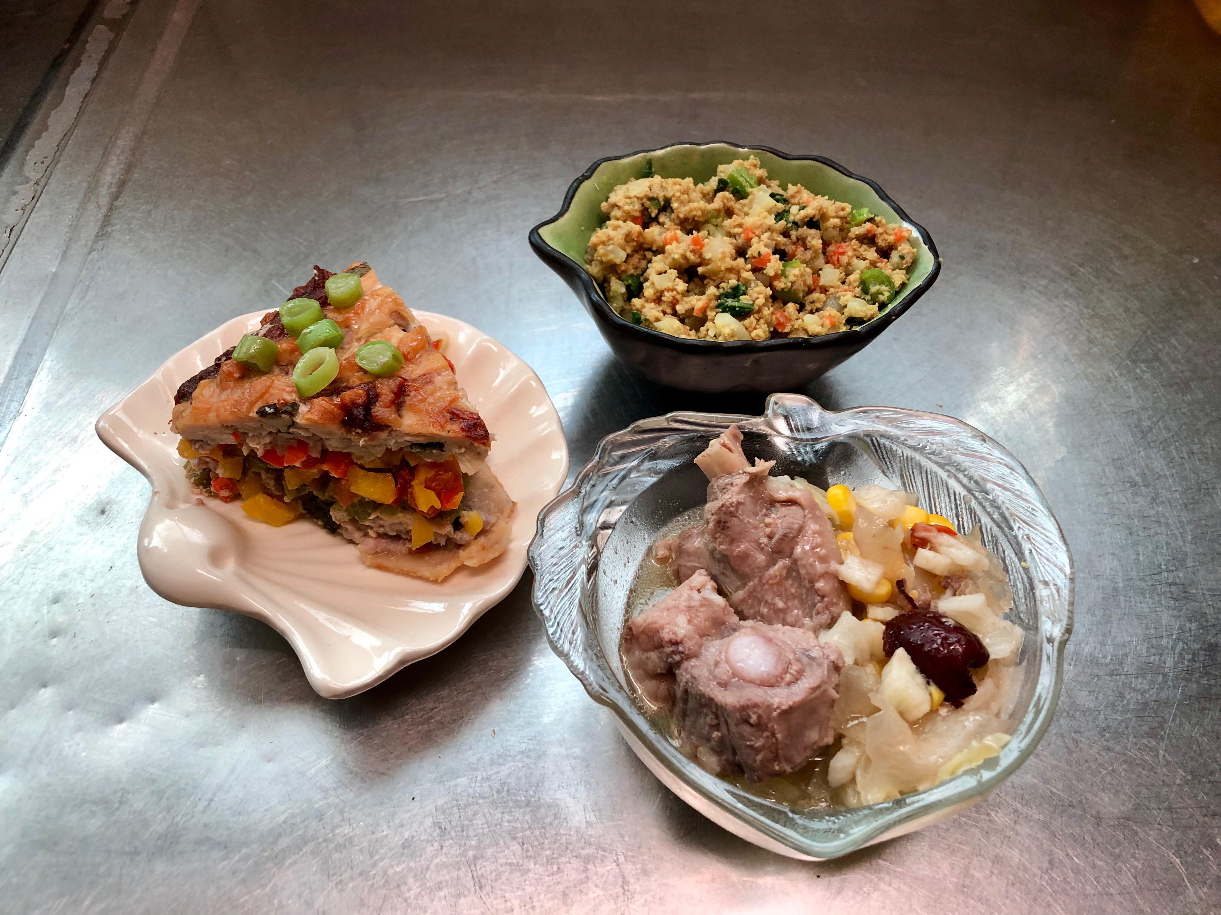 鮮食🐾披薩 絞肉咖喱 蔬菜蒸肉