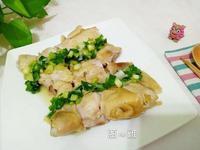 簡易懶人電鍋料理-蔥油雞