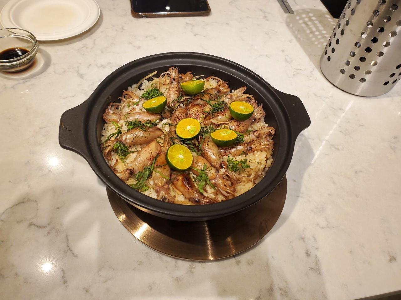 【湯瑪仕上菜】-料亭風炙燒小卷炊飯
