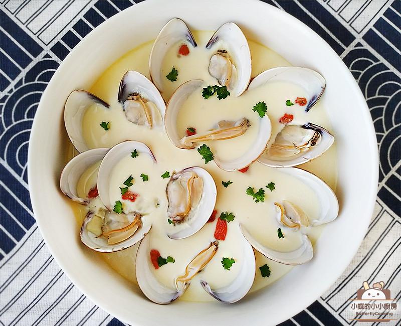 蛤蜊蒸蛋~鮮美滑嫩的電鍋低醣料理