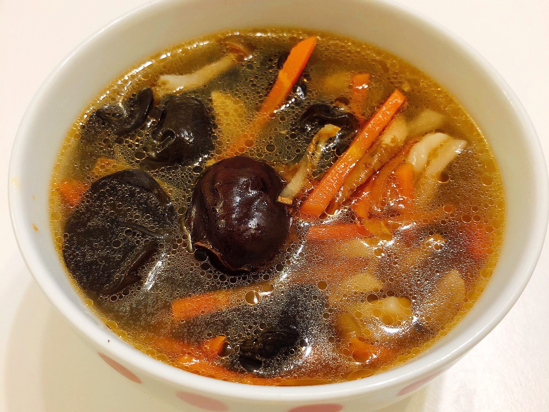 麻油鮮菇湯