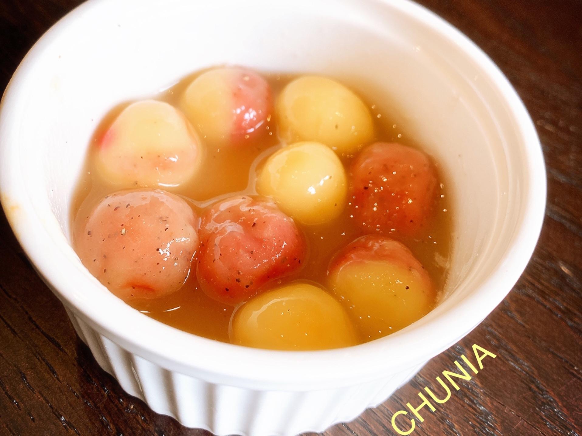 簡單煮-紅白小湯圓