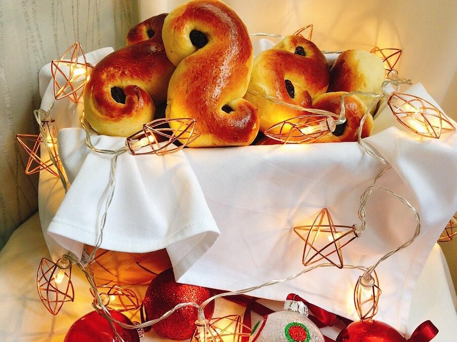 瑞典🇸🇪耶誕番紅花麵包