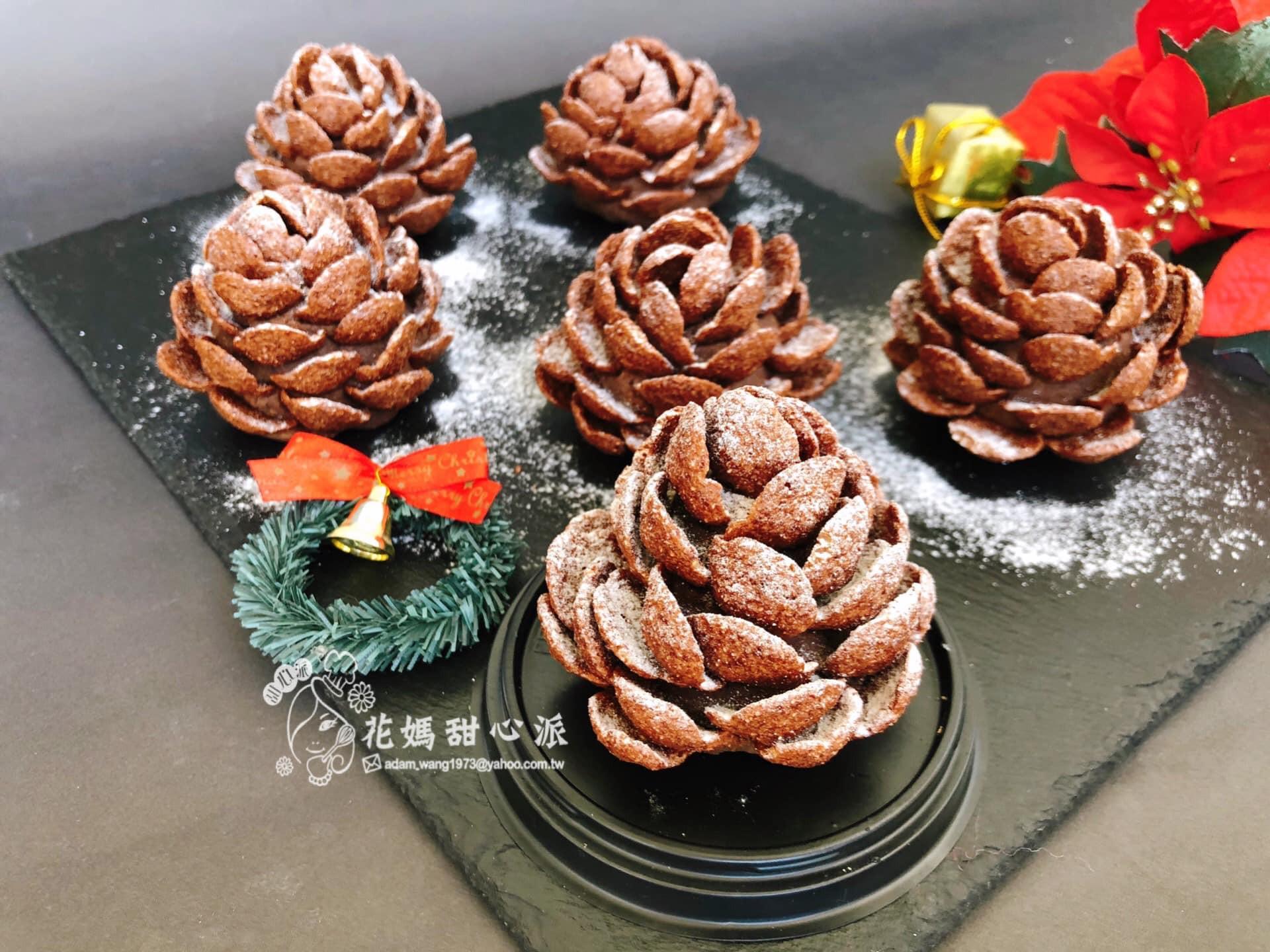 松果巧克力蛋糕(免烤箱)