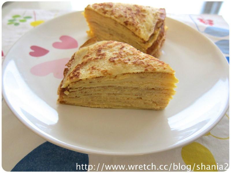 卡士達千層蛋糕
