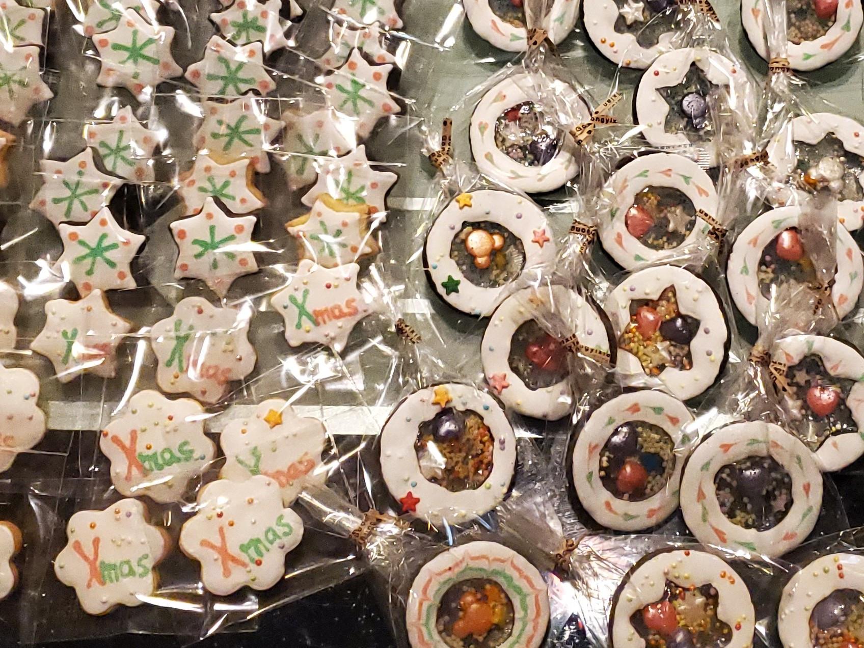 氣炸鍋&烤箱~玻璃糖霜餅乾