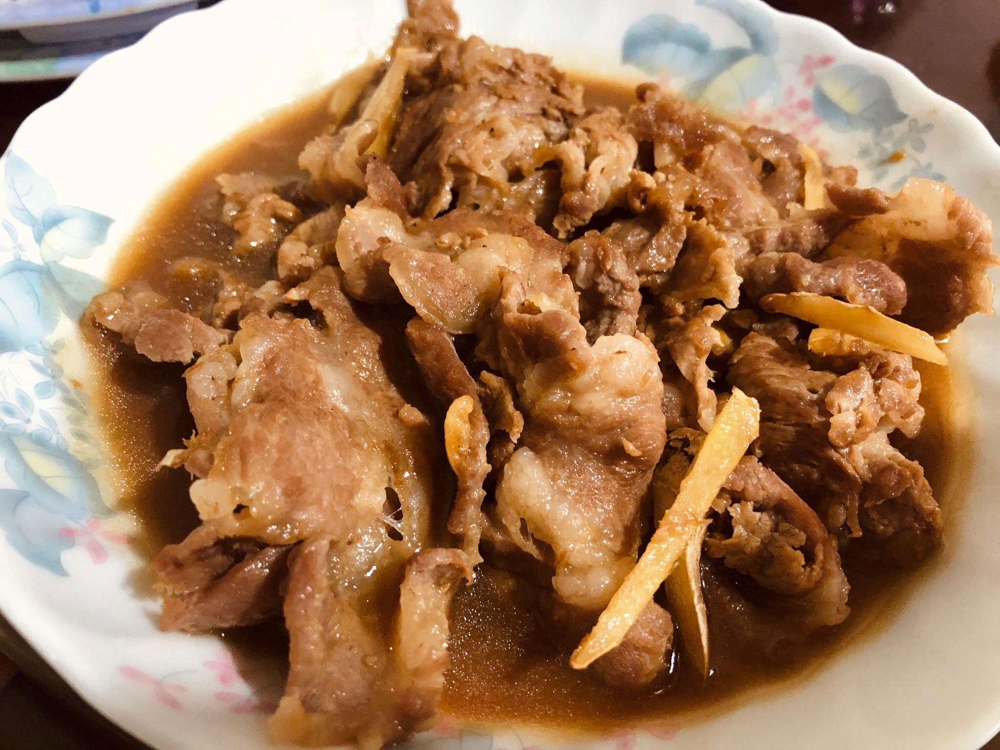 醬燒豬肉/燒肉拌飯款(家常菜)