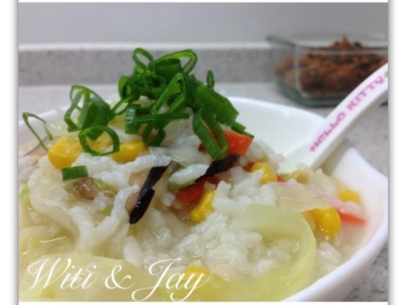 [Witi✿Kitchen]鮮蔬高麗菜玉米粥