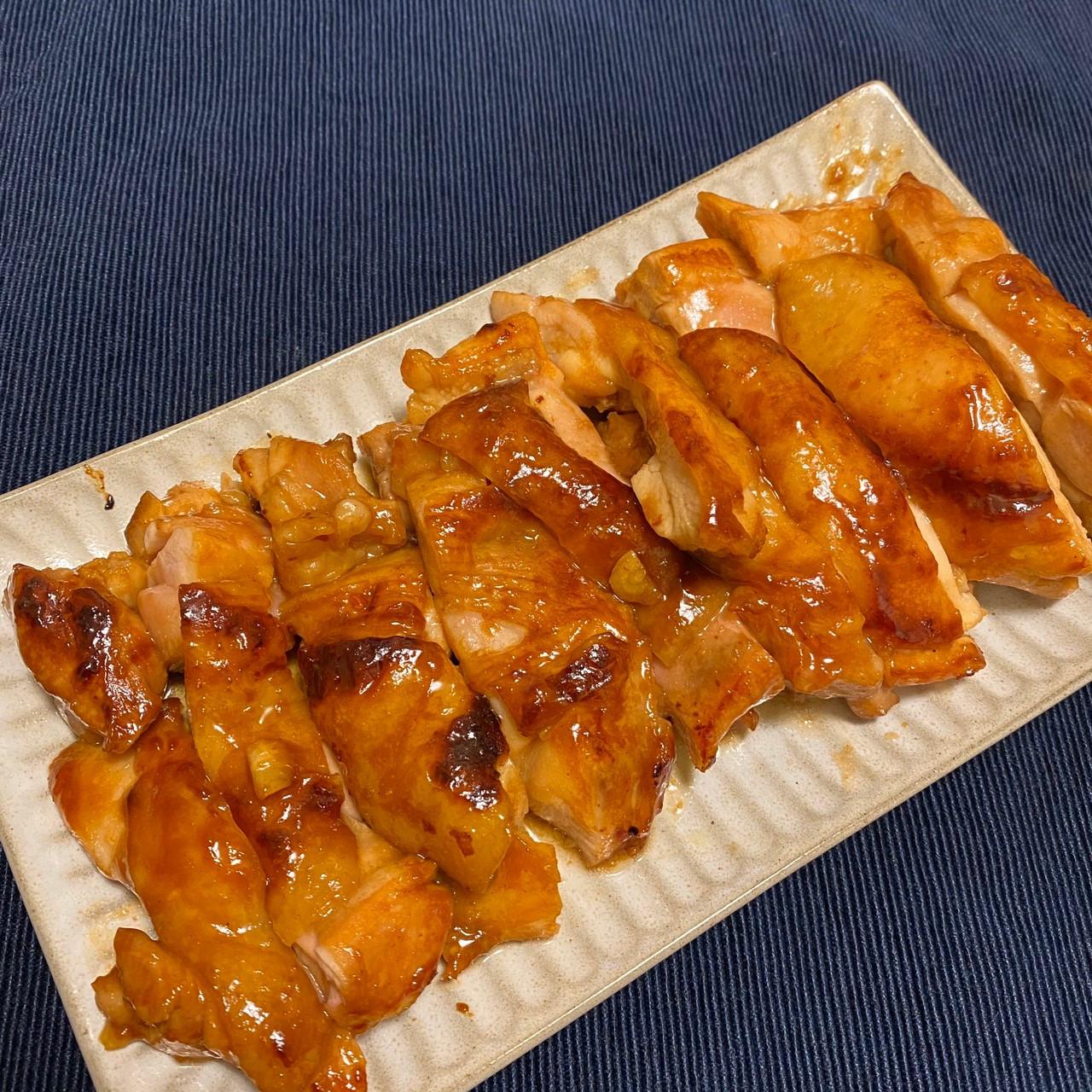 木木作羹湯|蜜汁照燒雞腿排
