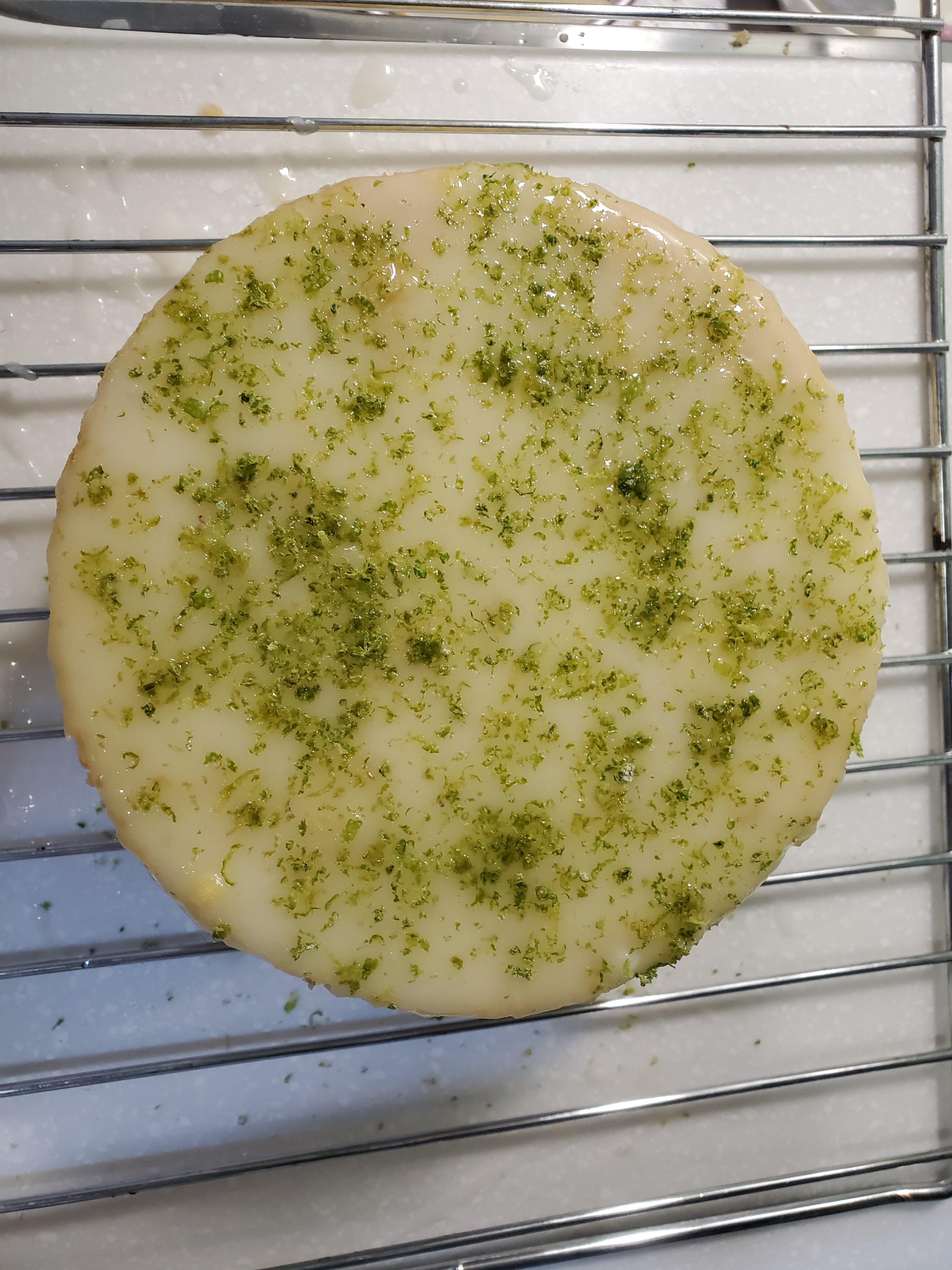 老奶奶檸檬蛋糕6吋(自己做資料)