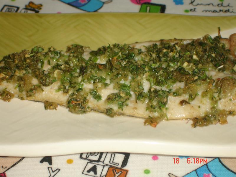 香料烤鱸魚